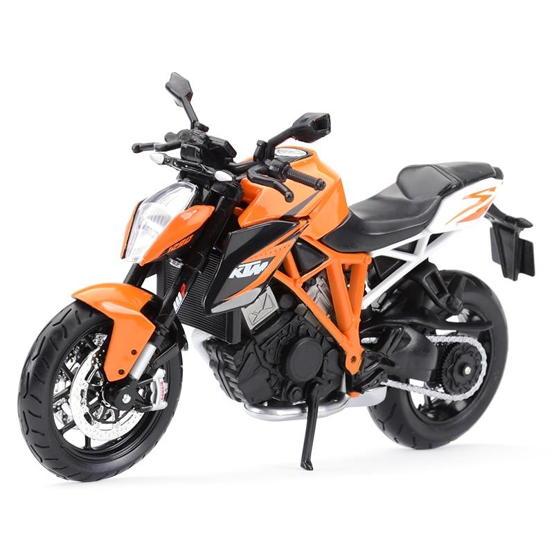 Maisto 1:12 KTM-1290 Super Duke R Orange Die Cast Vehicles Collectible Hobbies Motorcycle Model Toys