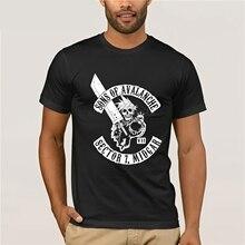 Tanie męskie graficzne koszulki wycięcie pod szyją z krótkim rękawem Top SonOf lavalanche T-Shirt final fantasy vii Tee T Shirt dla mężczyzn