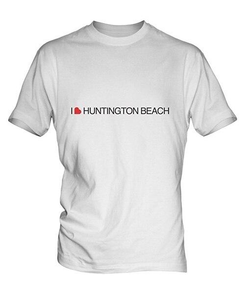 Camiseta blanca I Love para hombre y mujer, camiseta de manga corta...