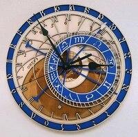 round large fashion wall clock classic vintage wood european design wall clock modern design reloj de pared room decor bk50bg