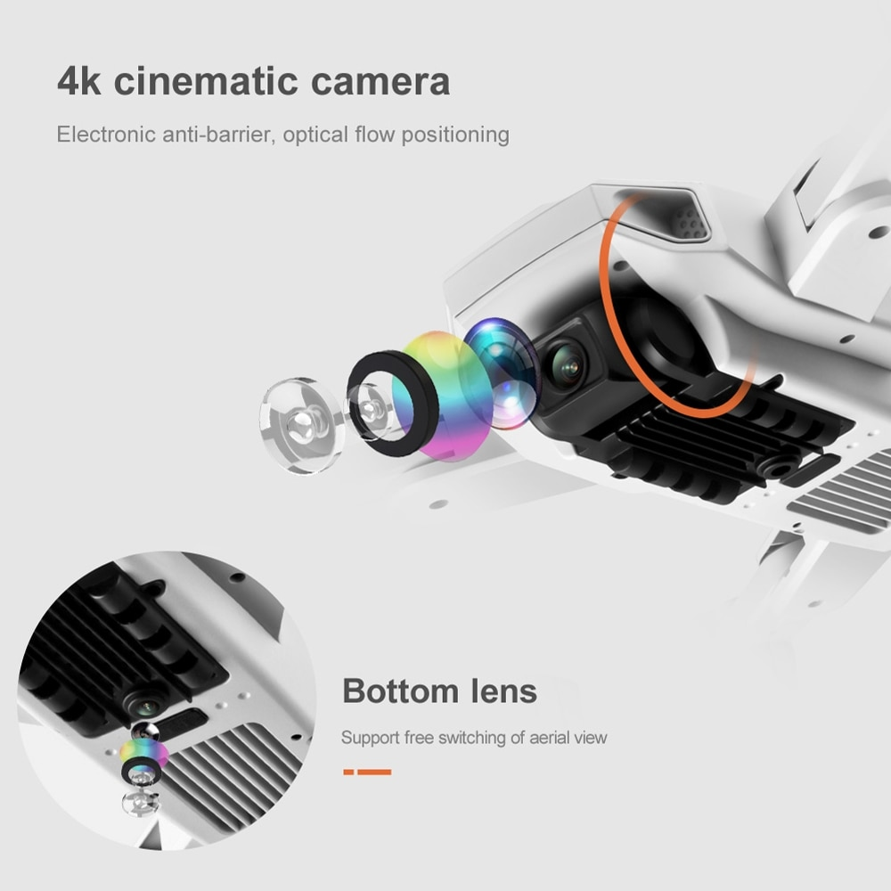 S103 Pro Rc Quadcopter Drone With 4k Camera Drones Hd 4k Gps 5g Wifi Uav Professional Foldable Dron Helicopter Toy Gift Vs Sg907 enlarge