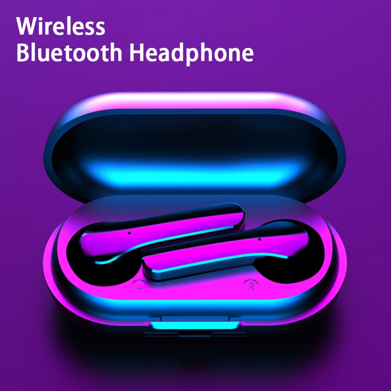 Y18 Tws Wireless Bluetooth Earphones Sport Wireless Earphone Headphone Earbuds with Charging Box for Iphone Xiaomi Huawei Iphone
