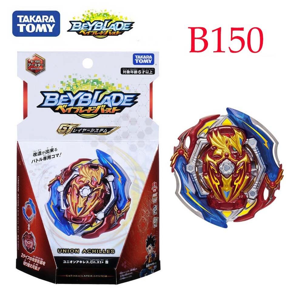 Echte Takara Tomy Beyblade burst B-150 Union Achilles Cn.Xt + Retsu Metall Fusion arena Schlacht Gyro Spielzeug B167 B168