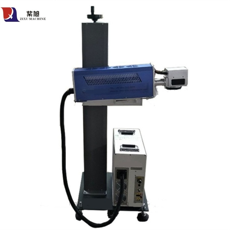 Máquina de marcado láser de madera Co2 máquina de marcado láser no metal en madera