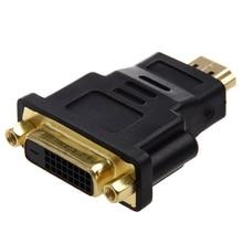 Adaptateur DVI 24 + 1 (DVI-D) femelle vers HDMI mâle