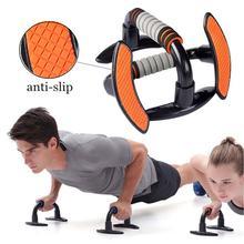1 Pair Push Up Bars Push-up Bracket Push-up Shelf Stand Foam Handles Fitness Equipment Chest Muscle Press Pull Training