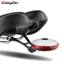 EasyDo queue arrière vélo lumière spécial coloré rapide Dissasembly 6 lampe à LED étanche pour vélo lumière montagne route vélo UFO