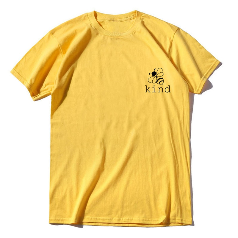 Camiseta divertida de verano con letras con eslogan suave y cuello redondo de moda con Top AMARILLO Hipster de manga corta para mujer