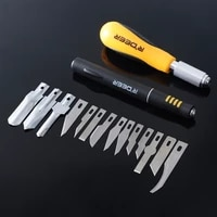 14pcs hobby craft carving cutter blade set for art modeling scrapbooking and sculpture woodworking