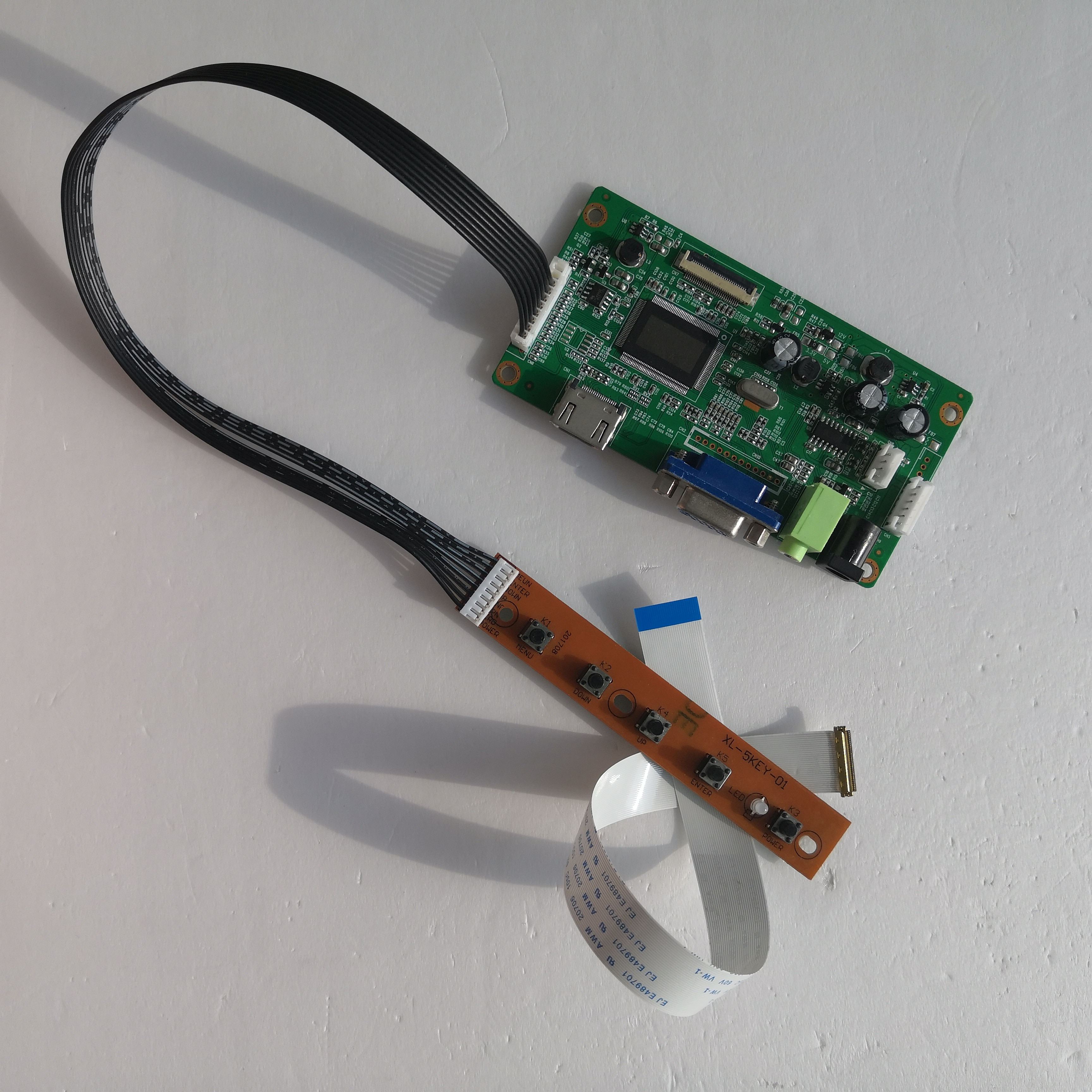 ل NV140FHM-N43 LCD لتقوم بها بنفسك عدة VGA EDP تحكم مجلس 14
