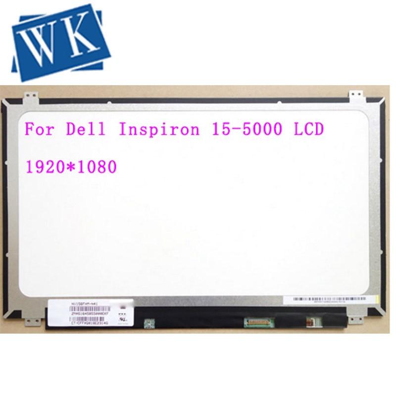 15.6-inch FHD IPS LCD LED Screen ، for Dell Inspiron 5000 5558 ، 1920X1080 ، 30Pin ، استبدال
