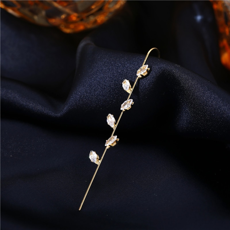 Poročni uhani za uhane s kavljem uhani uhani iz kristalnega uhana za - Modni nakit - Fotografija 2