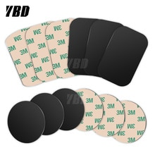 YBD Magnetic Disk Phone Stand Magnet Metal Plate Car Phone Holder Metal Plate Iron Sheets for Magnet