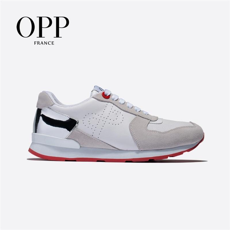 OPP Men's Shoes Large Size Sports Shoes Fashion Men's Casual Shoes With Versatile Comfortable Travel Shoes Tide