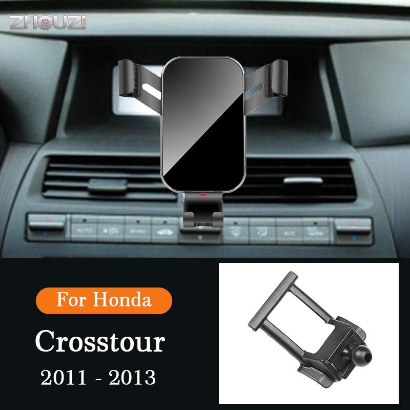 Автомобильный держатель, подставка для GPS навигатора, Гравитационный кронштейн для Honda Crosstour 2011-2013, автомобильные аксессуары