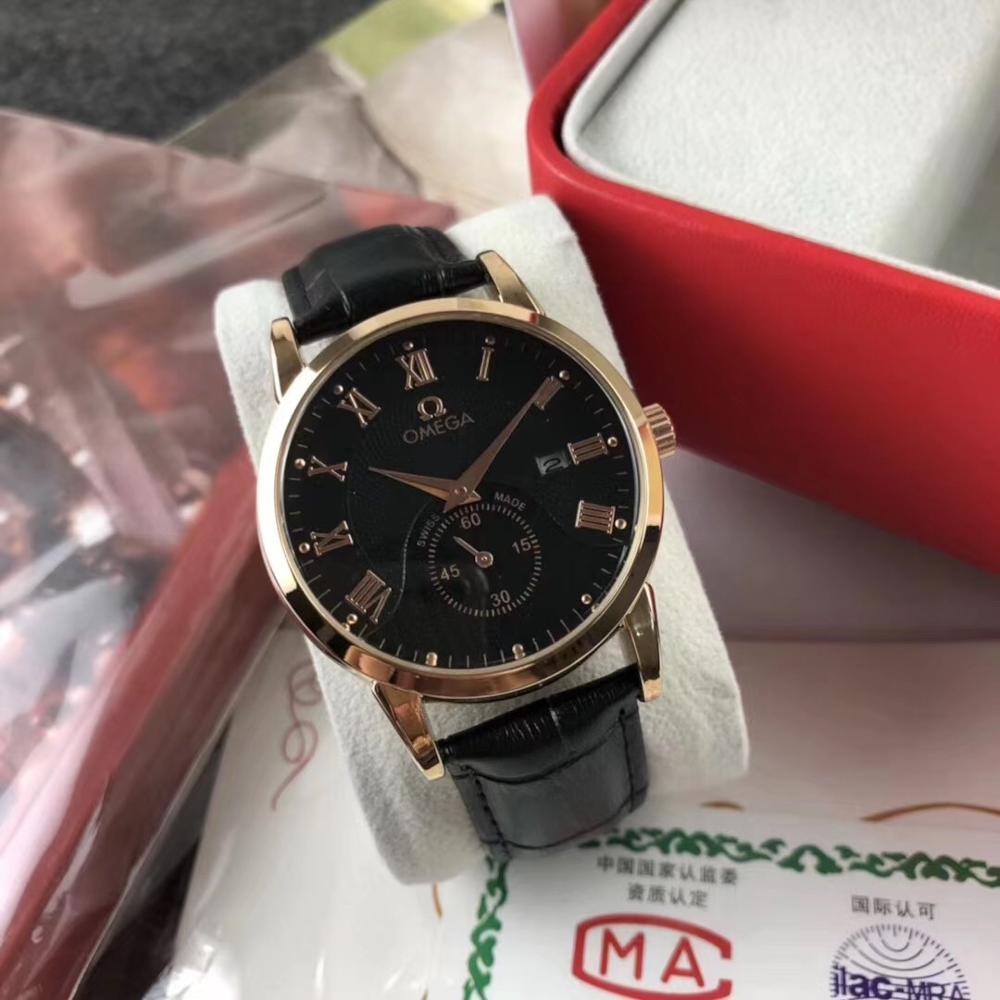 Reloj Omega-para hombre, marca de lujo, anillo de cerámica para hombre, reloj de cuarzo AAA con movimiento de diseñador, reloj 96865663
