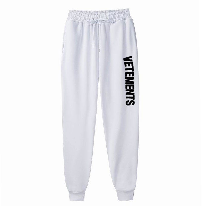 2021 Fleece Pants Men's Jogger Sweatpants Streetwear Pants Fashion Printed Muscle Sports Men's Pants