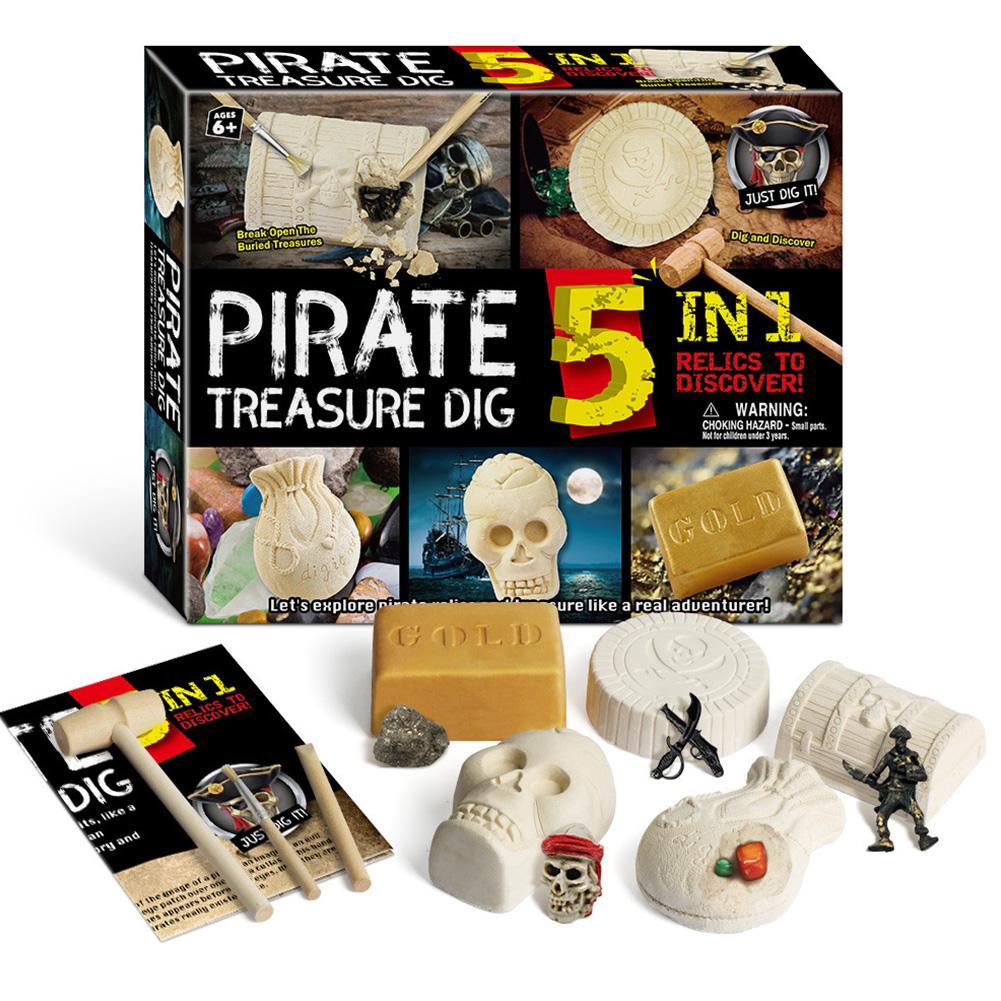 brinquedos de escavacao arqueologicos para criancas modelo de montagem diy tesouro