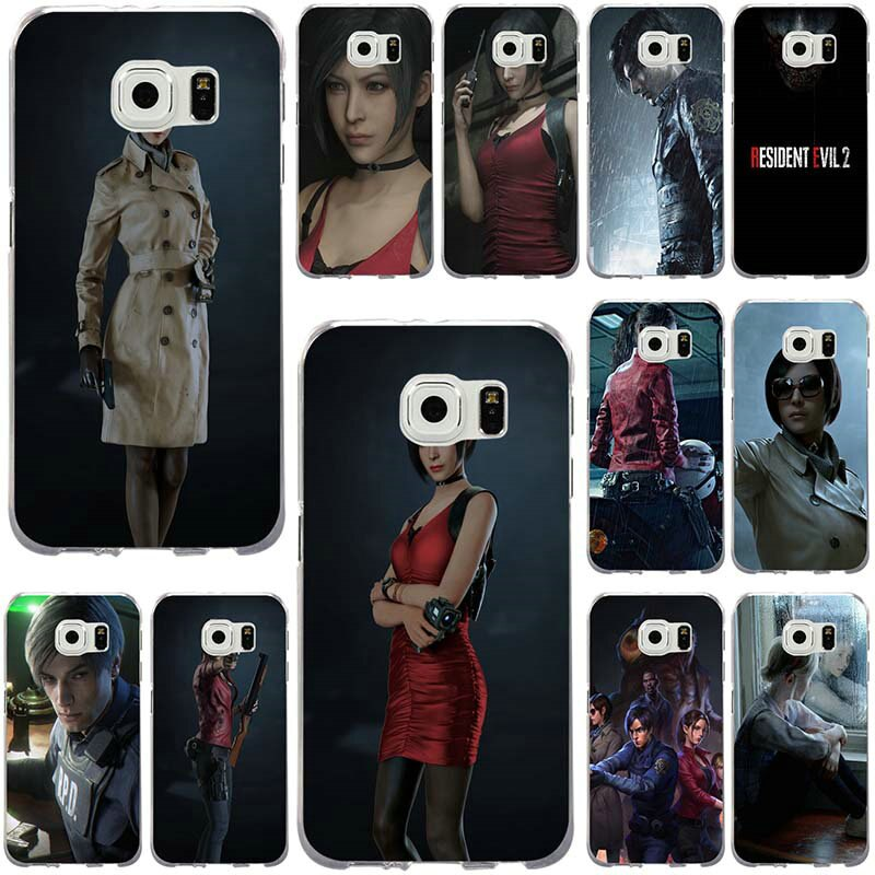 Funda de teléfono blanda de TPU para Samsung Galaxy Note 2, 3, 5, 8, 9, S2, S3, S5 Mini, S6, S7, S8, S9, S10 Edge Plus Lite, Fundas para Resident Evil 2