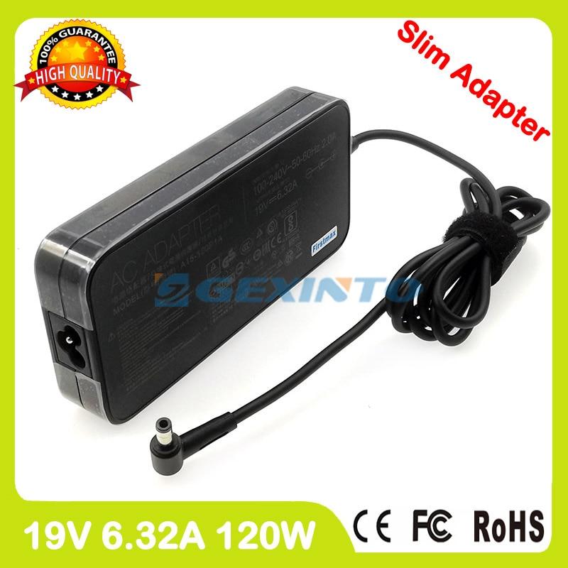 Adaptador de corriente alterna de 19V 6.32A PA-1128-26 cargador de ordenador portátil para ZenBook UX510UW UX510UX VivoBook Pro N552VW N552VX N752VX