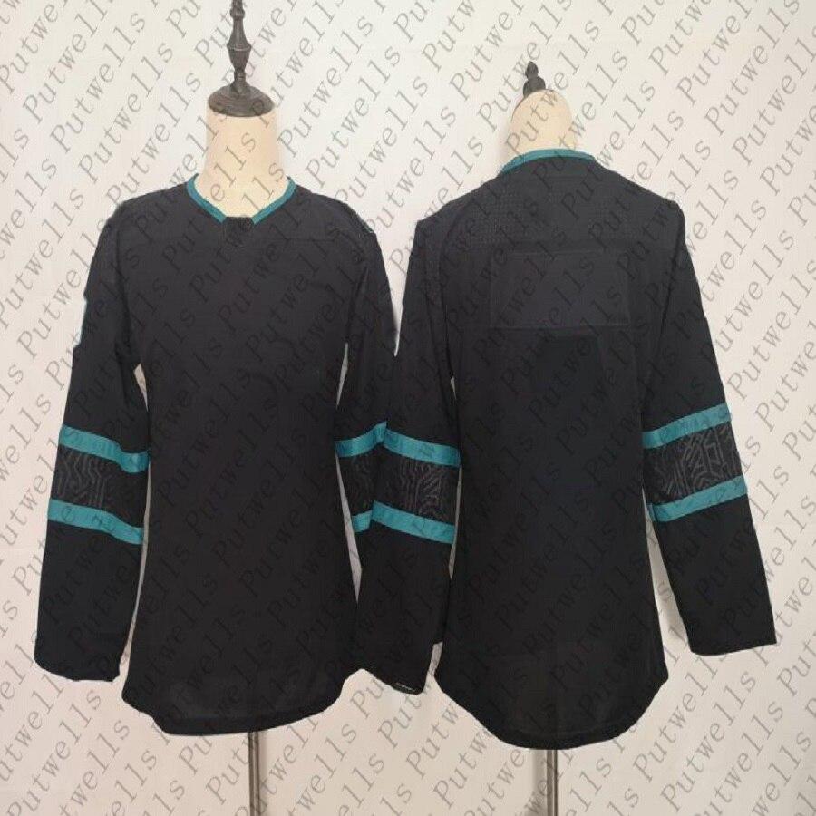 Jerseys de hockey América para mujer, San Jose, puntada de hielo, Brent quema, Eric Karlsson, Evander, Kane, Logan, costura, jersey de hockey