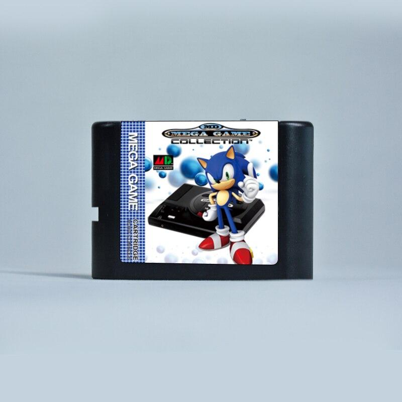 El cartucho definitivo de 1000 juegos en 1 MD Remix, MDV1, para SEGA GENESIS MegaDrive de EE. UU./Japón/Europa