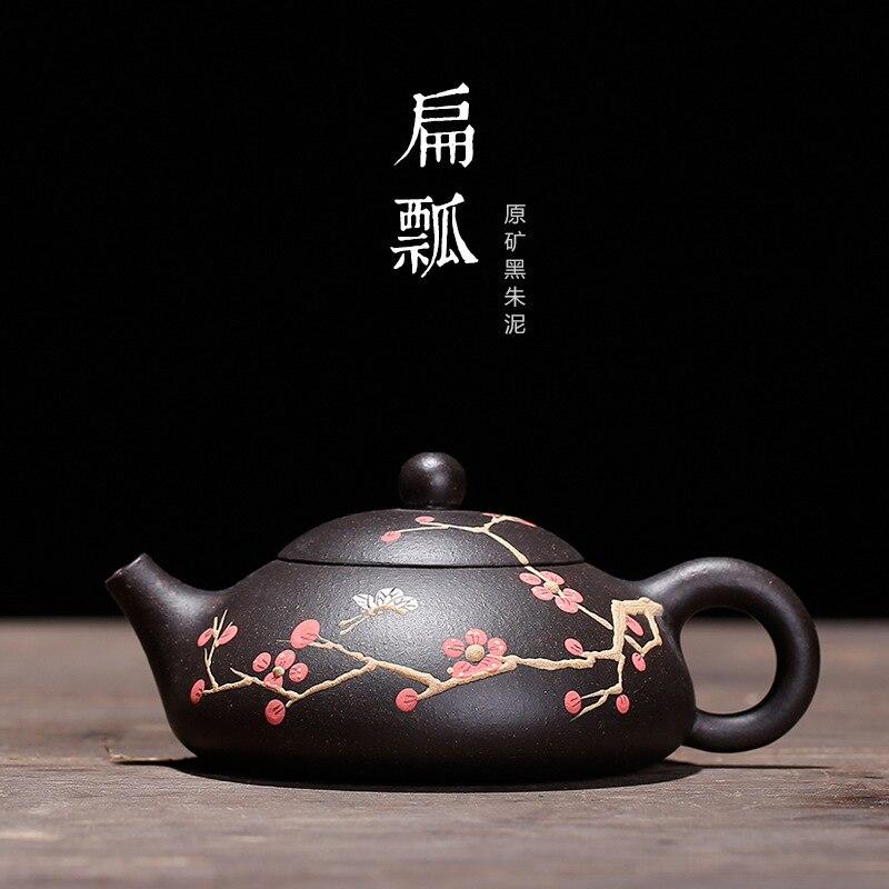 يوصى بمغرفة القرع الشتوية ، بالجملة ، طلاء الطين ، أزهار البرقوق ونصف وعاء من طقم شاي yixing ، الشحن المباشر