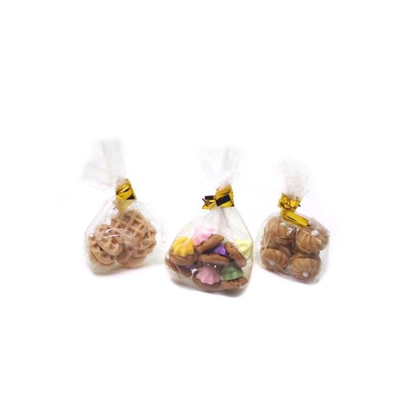 1 Набор 1/12 Миниатюрные аксессуары для кукольного домика миниатюрные десертные печенье модель еды для украшения кукольного домика