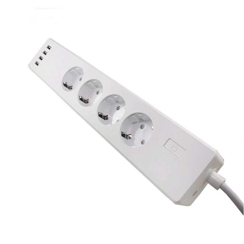 مأخذ (فيشة) ذكي الأوروبية القياسية الطاقة قطاع التطبيق التحكم عن بعد المنزل الذكي اليكسا صوت لاسلكي ذكي التوصيلات