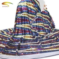 african colorful sequined bautiful lace embroidery materials