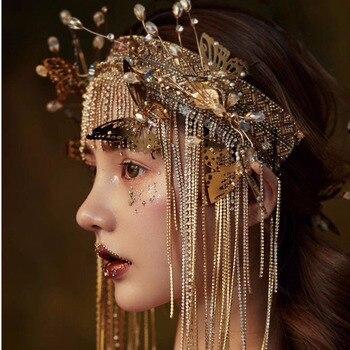 Klasyczne światło żółte Stop W Złotym Odcieniu Półksiężyca Z Imitacją Peruka Perłowa Biżuteria Dla Kobiet Prezent Tanie I Dobre Opinie