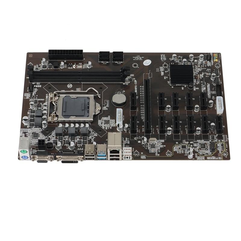 لوحة تعدين LGA1151 USB3.0 SATA3 لـ B250 B250M DDR4 لـ Asus B250 لخبير التعدين 12 PCIE جهاز التعدين BTC ETH