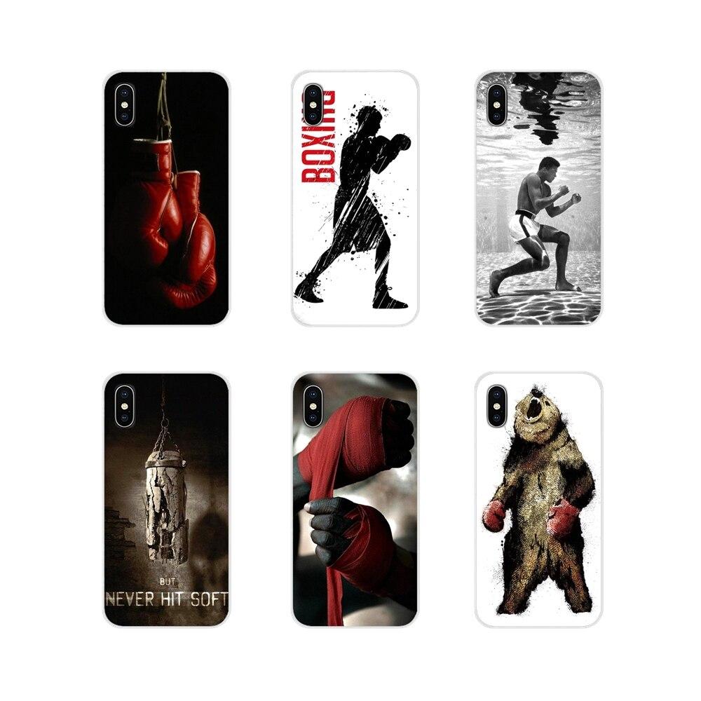 Муай тайская борьба бокс силиконовый чехол для телефона чехол для Huawei G7 G8 P7 P8 P9 P10 P20 P30 Lite Mini Pro P Smart плюс 2017 2018 2019
