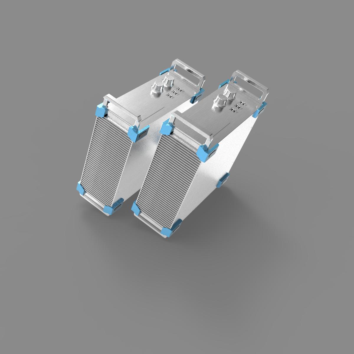 2U الإلكترونية الصناعية الإسكان بالوعة الحرارة الصانع الألومنيوم الإلكترونية Compoent تقاطع رف جبل أداة PCB