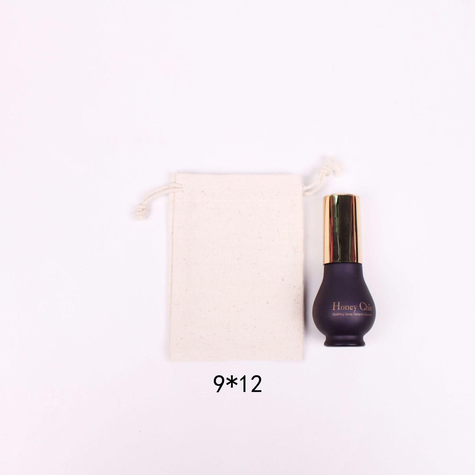Bolsas de Algodão Malotes de Cordão 9x12cm + 2 10x15cm + 2 Pces Natural 2 15x20cm 130g