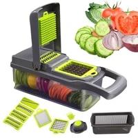 new multifunction vegetable cutter kitchen accessories gadgets steel blade potato peeler carrot grater kitchen tool
