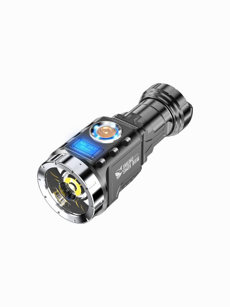 lanterna led tocha a prova dagua mais potente ferramenta de alta potencia 50000 lumens