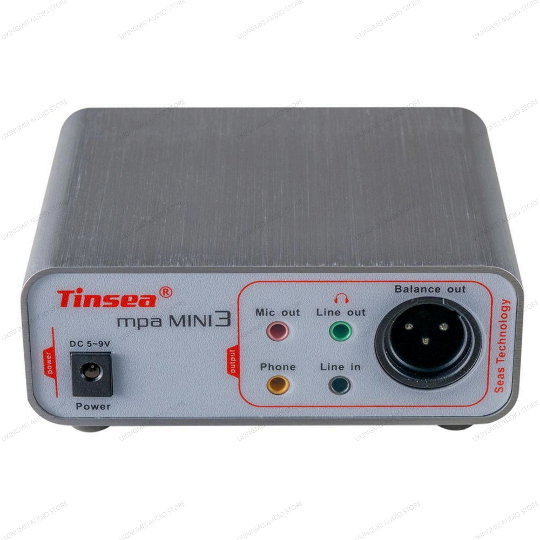 Tinsea mpa MINI3 Profession Mic-pre Amp for livestream sound card reverberation karaoke Dynamic Mircophone preamplifier for SM58 enlarge