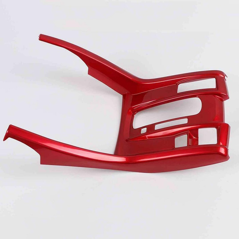 Fit For Honda Civic 10th 2016-2021 Red Console Gear Shift Frame Cover Trim ABS enlarge