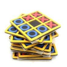 1 pièces Interaction Parent-enfant loisirs jeu de société OX échecs drôle développement Intelligent jouets éducatifs