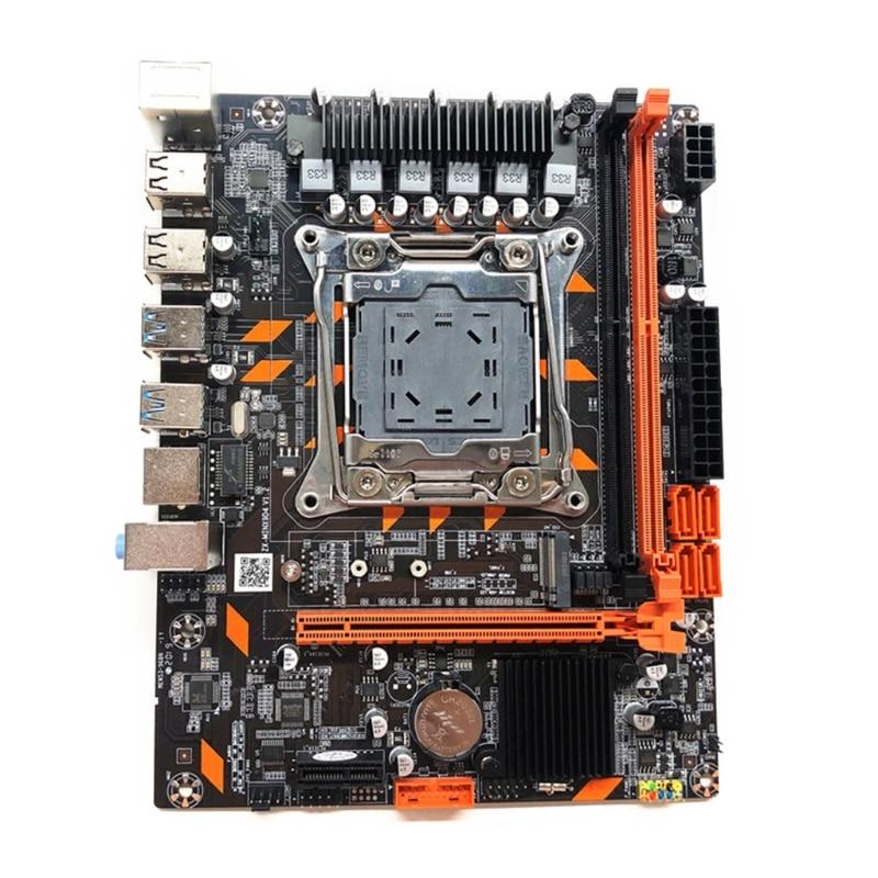 67JA New X99 Motherboard LGA2011-3 Pin Computer Motherboard DDR4 Memory E5 2678 2690V enlarge