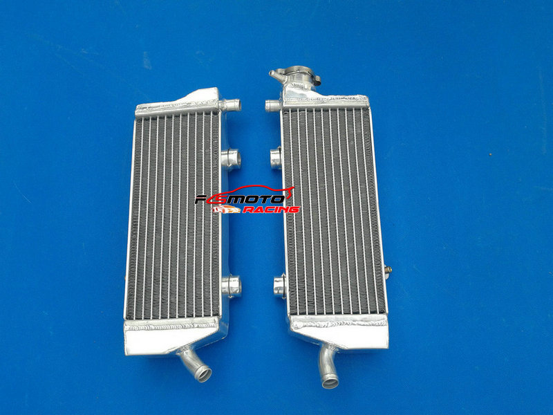 New Aluminum Alloy Radiator For KTM SXF/SX-F 250 350 450 250SXF 350SXF 450SXF 2011 2012