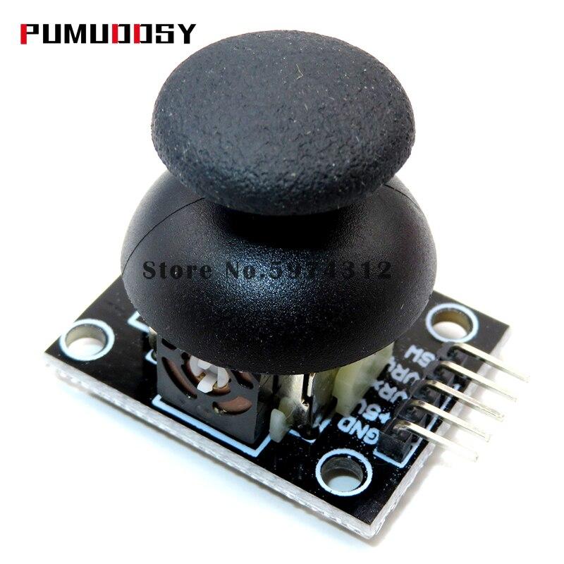 10 pçs/lote KY-023 duplo-eixo xy joystick módulo de maior qualidade ps2 controle manche alavanca sensor para arduino avaliado 4.9 /5