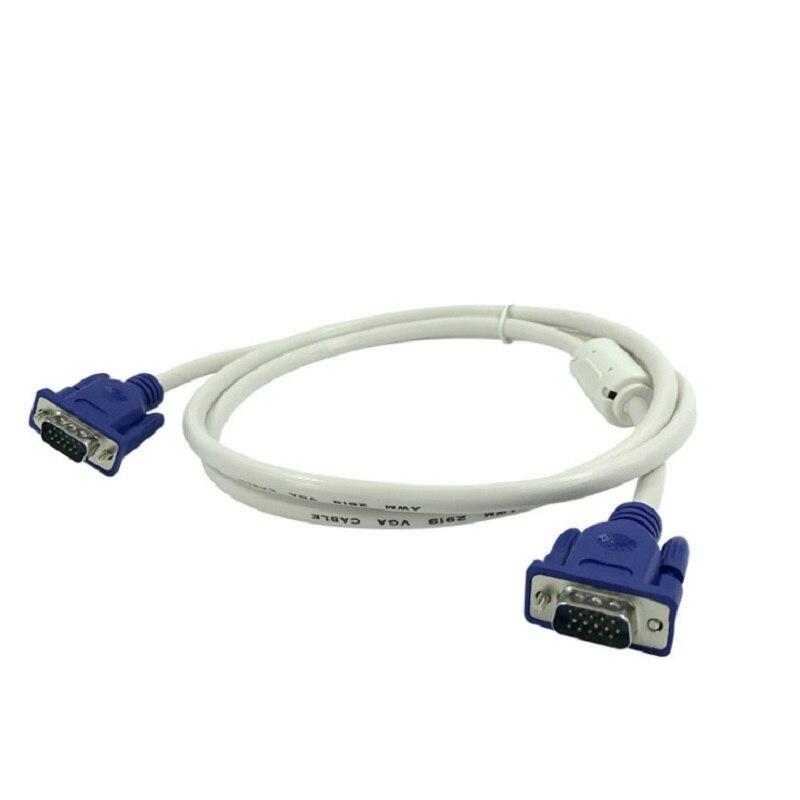 Cable VGA de 1080P, Cable macho a macho, blanco, 1,5 M, para...