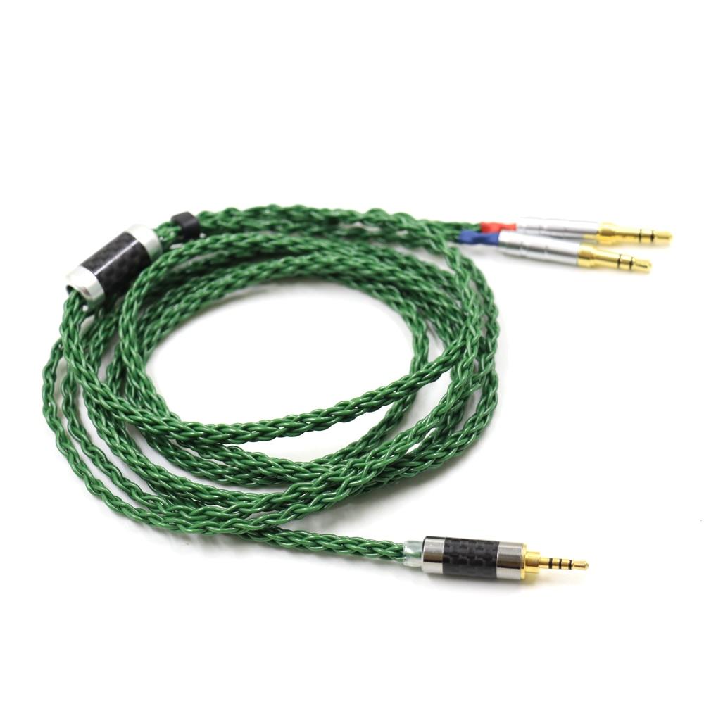 Thouliess Balanced 4 Pin Xlr 4.4 2.5mm Earphone Cable For Dual 3.5 SONY Z7 Denon AH D600 D7100 d7200 d5200 Headphone DIY enlarge