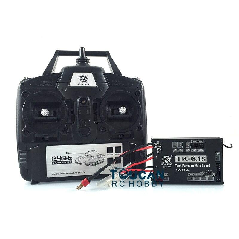Henglong 1/16 RC 2,4 Ghz generación 6,0 transmisor 6,1 Tablero Principal Radio Control THZH0391