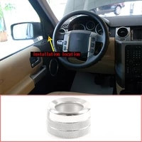 for 2004 2009 land rover discovery 3 rearview mirror adjusting rod cover aluminum alloy auto parts