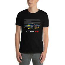 2020 Corvette C8.R coche de carreras de manga corta Unisex regalo camiseta regalo Camiseta 100% algodón