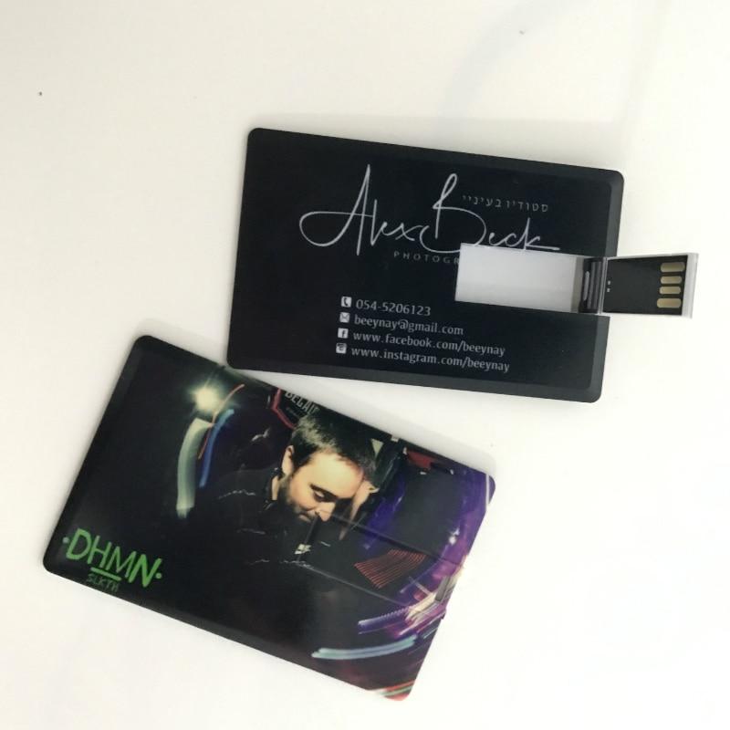 Tarjeta de memoria USB superfino con personalización gratuita con logotipo, memoria USB...