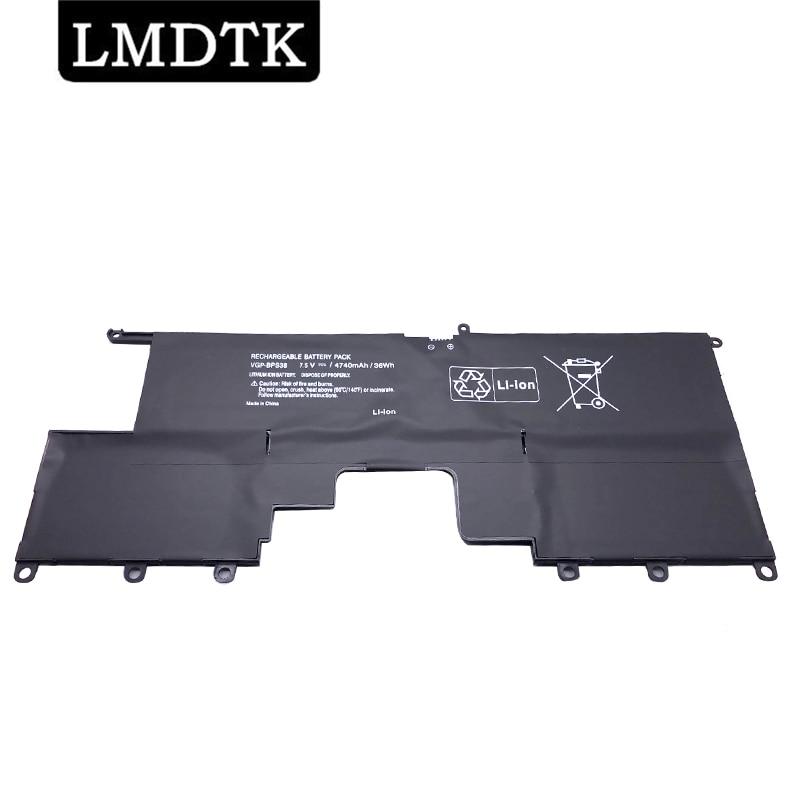 LMDTK جديد VGP-BPS38 محمول بطارية لسوني VAIO PRO11 PRO13 SVP1321BPXB SVP13216PG SVP132A1CM SVP11217SCS 7.5V 4740mAh